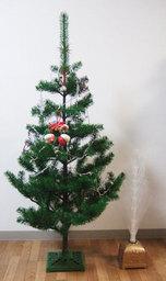 4プラスティフロア社クリスマスツリー
